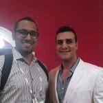 Me with Alberto Del Rio