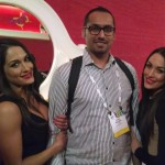 Me with Bella Twins