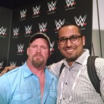 Me with Stone Cold Steve Austin