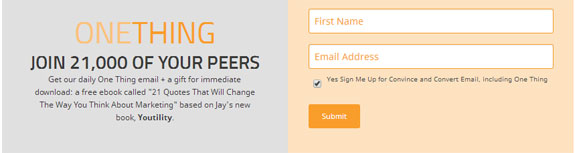Jay Baer Subscribe Box