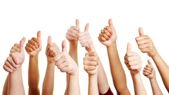 Thumbs up - advantages and disadvantages of email marketing