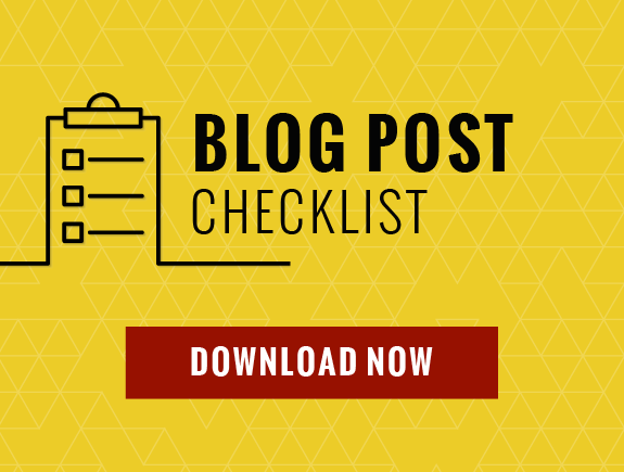 Download My 14-Point Blog Post Checklist to Use Before You Hit Publish