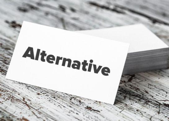 Business Card Alternative