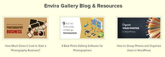 Envira Gallery Blog