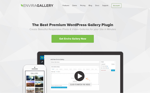 Envira Gallery Redesign