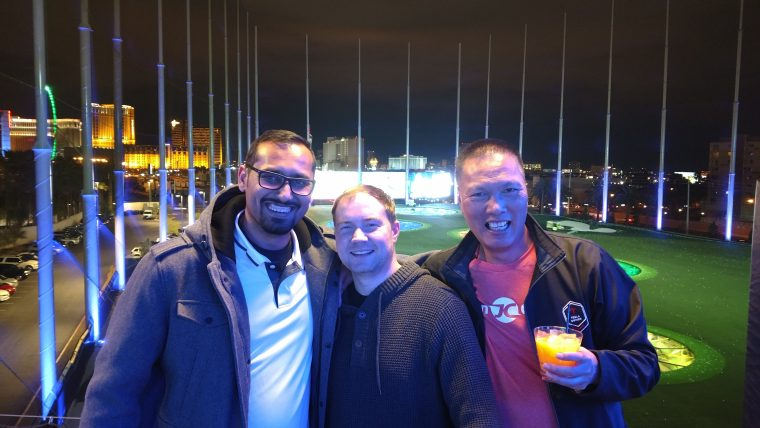 With Zac and John at Affiliate Summit
