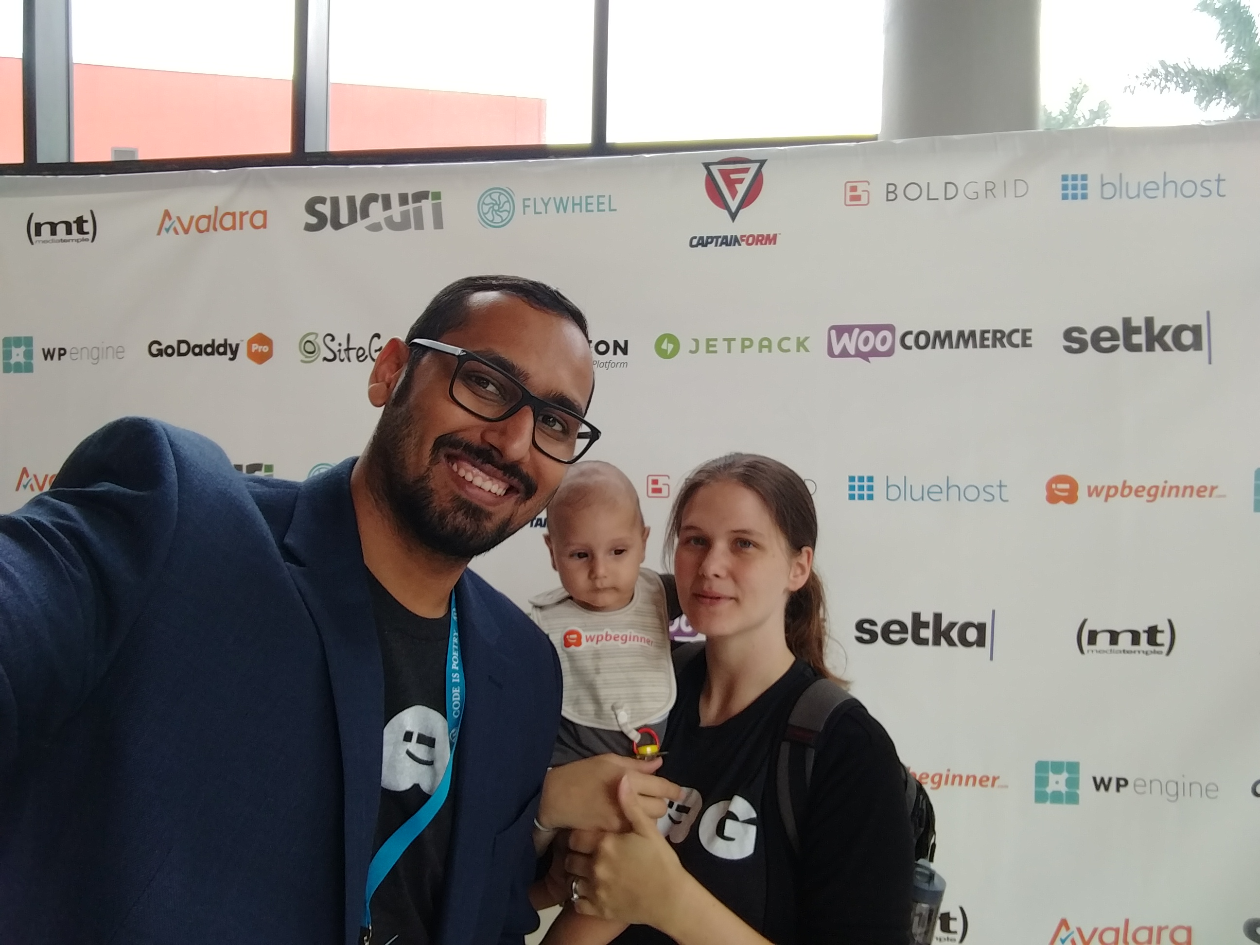 Solly at WordCamp Miami