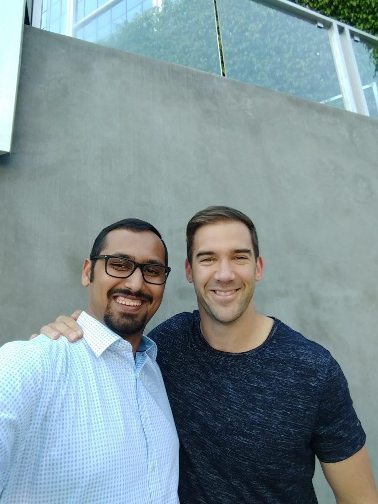 Met up with Lewis in LA