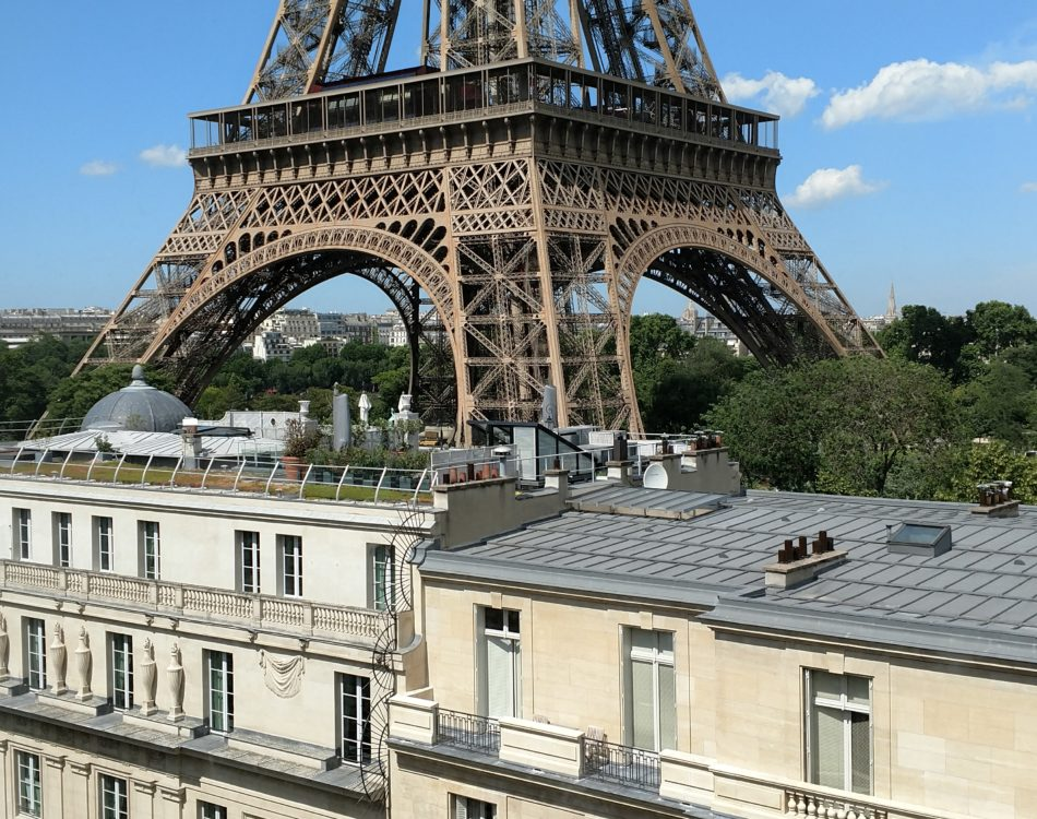 View from my Penthouse in Paris