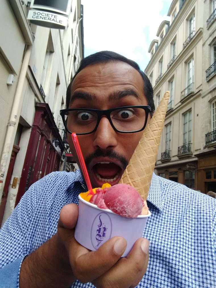 When in Paris, you gotta eat this ice cream