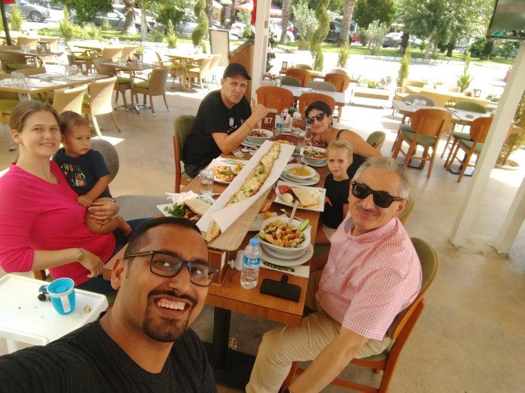Turkish food with David & Yurda