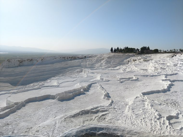 Pamukkale in Turkey