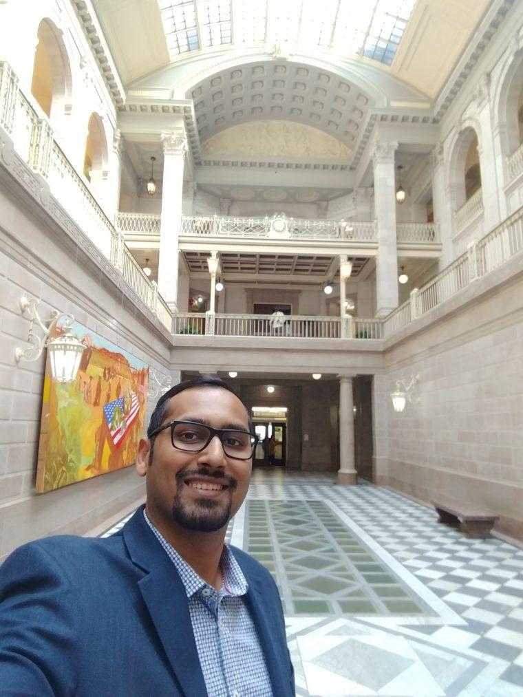 At the Hartford City Hall
