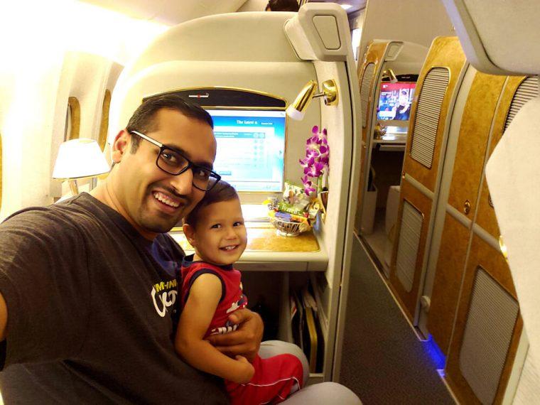 Emirates Flight Suite (Ft. Lauderdale to Dubai)