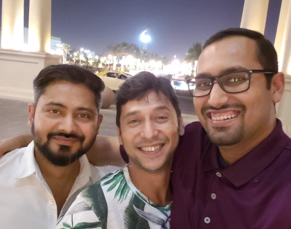 Visiting my Uncle and Cousin in Dubai