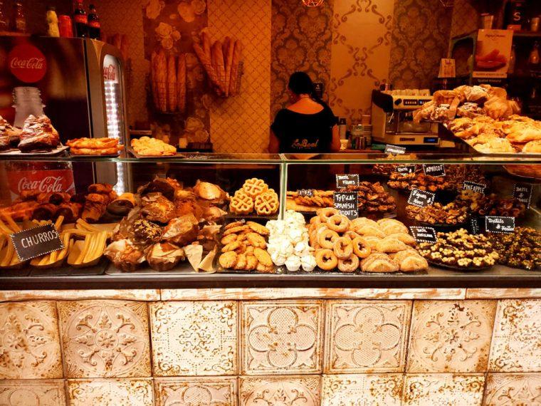 Yummy food in Barcelona