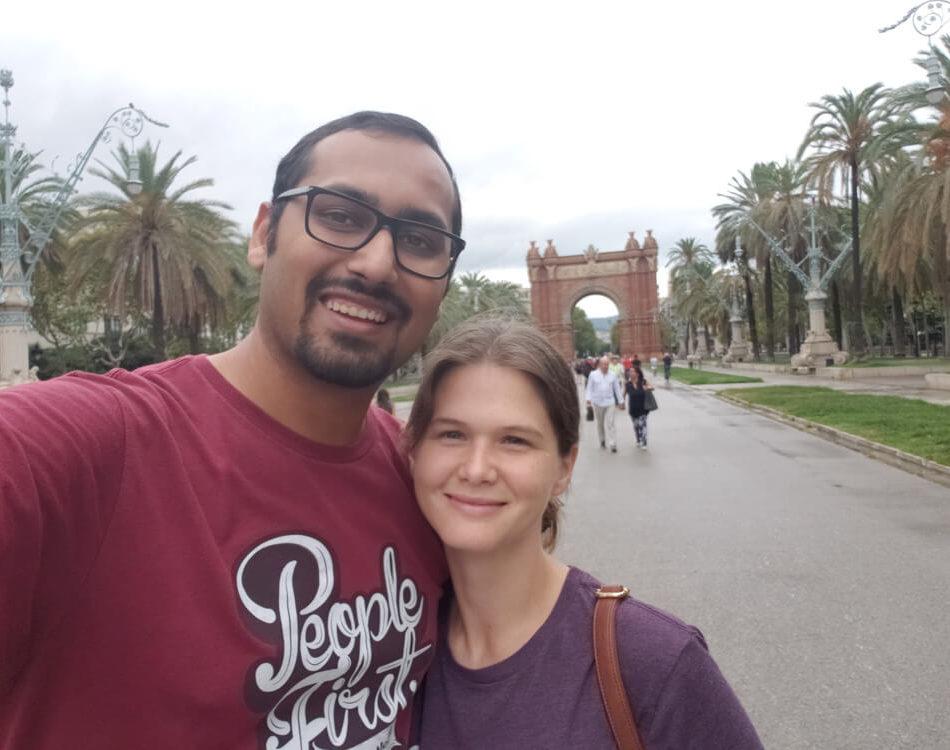 Barcelona Selfie