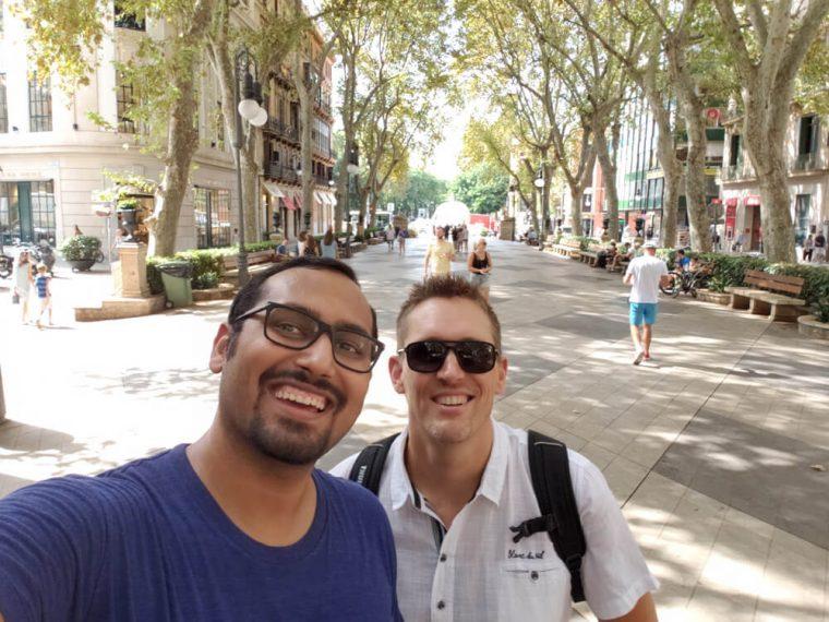 Selfie with David