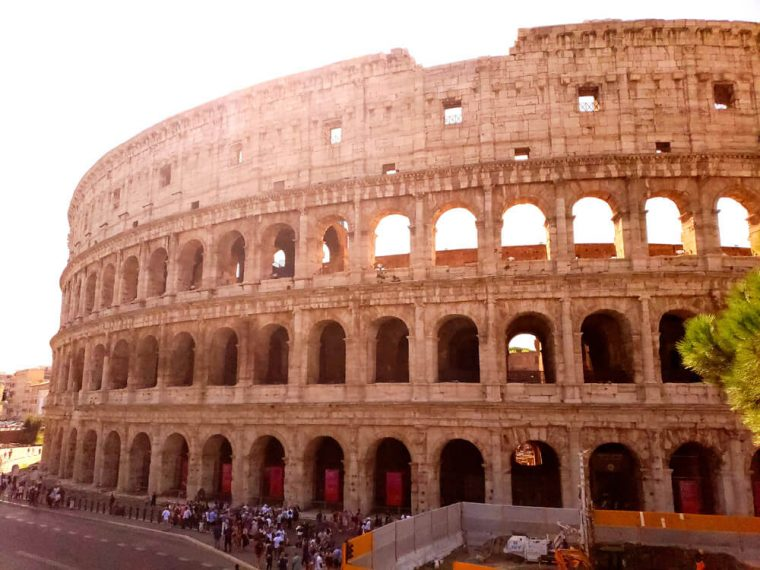The most famous building in Rome