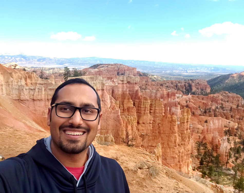 Bryce Canyon National Park Selfie