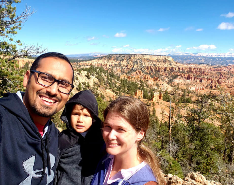 Selfie at Bryce Canyon National Park