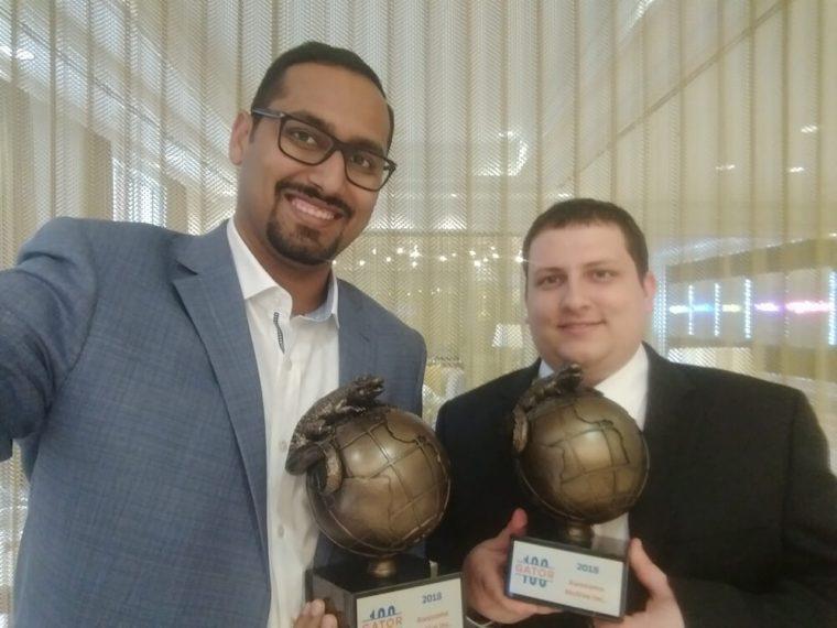 Gator100 Award with Christoff