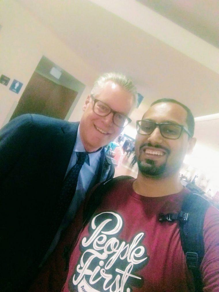 Delta CEO Ed Bastian was on my flight to Palm Beach