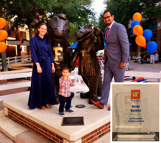 University of Florida Outstanding Young Alumnus Award 2018