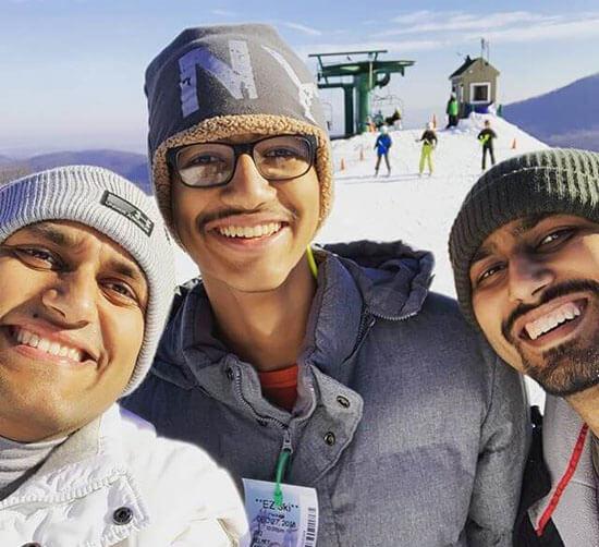 Balkhi Brother Ski Trip