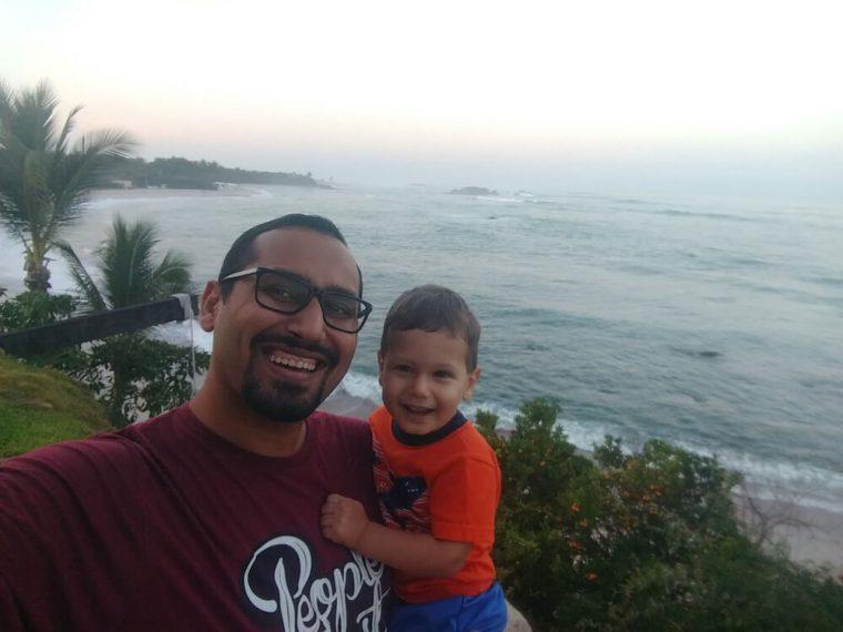 Selfie with Solly at Punta Mita Mastermind