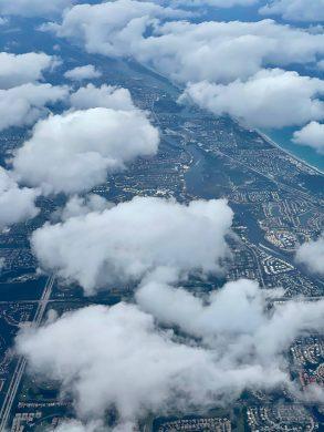 Aerial View of Palm Beach