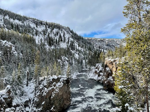 Gorgeous Yellowstone Scenery