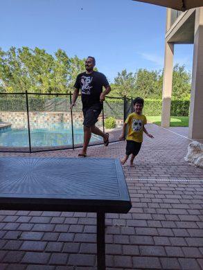 Backyard Racing with Solomon