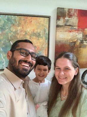 Family Selfie for Eid