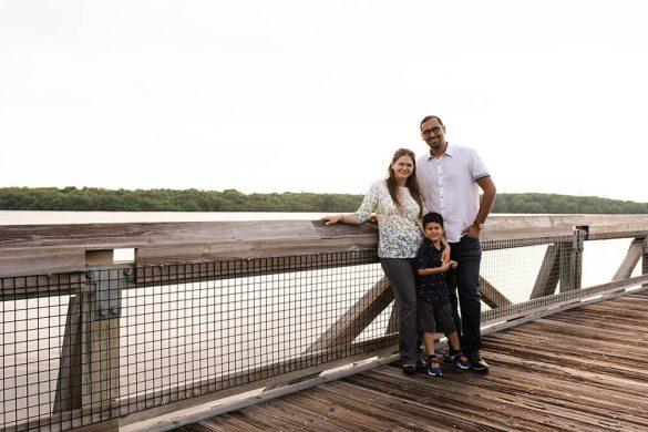 Family Photo at MacArthur Park