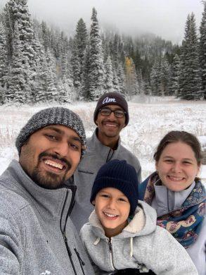 Family Photo Teton Pass