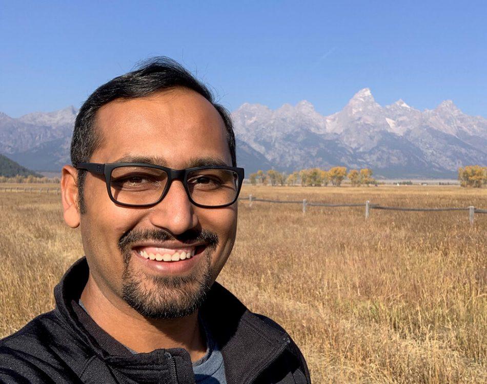 Selfie at Grand Teton