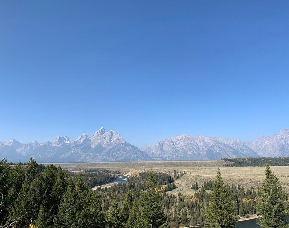 Gorgeous view at Grand Teton