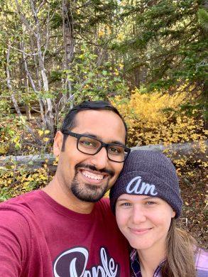 Hiking Selfie with Amanda
