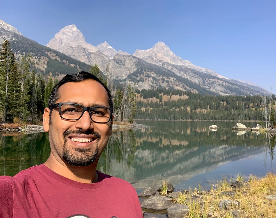Lake Taggart Selfie