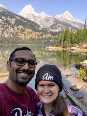 Lake Taggart with Amanda