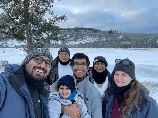 Family Photo at Yellowstone with my parents
