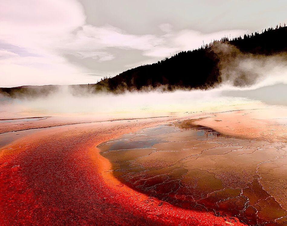 Prismatic Springs Edited to make it look like Mars