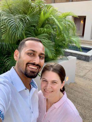 Punta Mita selfie with Amanda