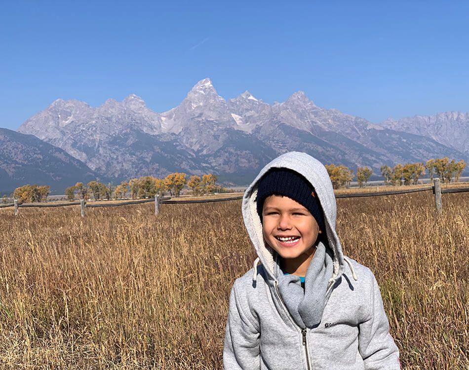 Solomon in Grand Teton