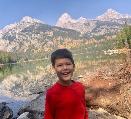 Solomon at Lake Taggart