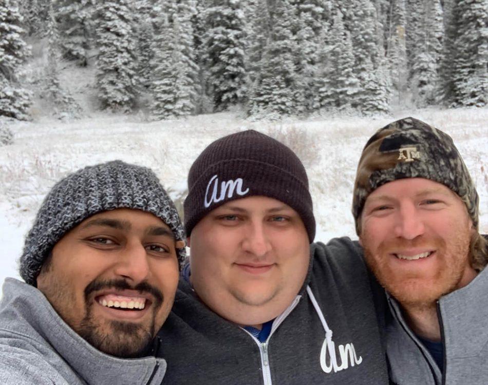 Teton Pass with Jared and Christoff