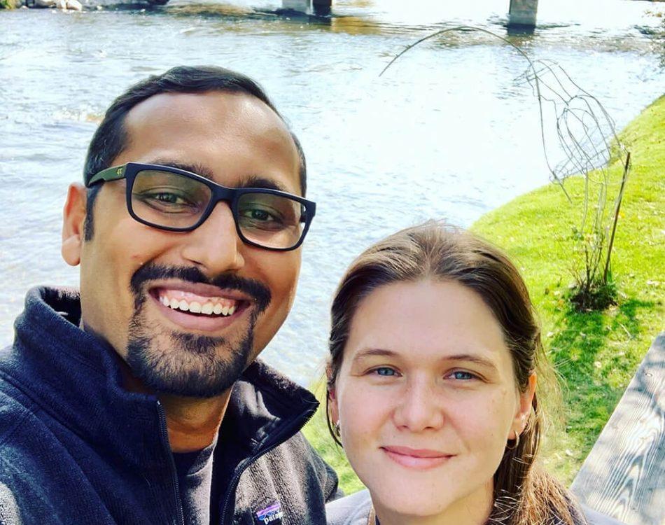 Riverside Selfie with Amanda