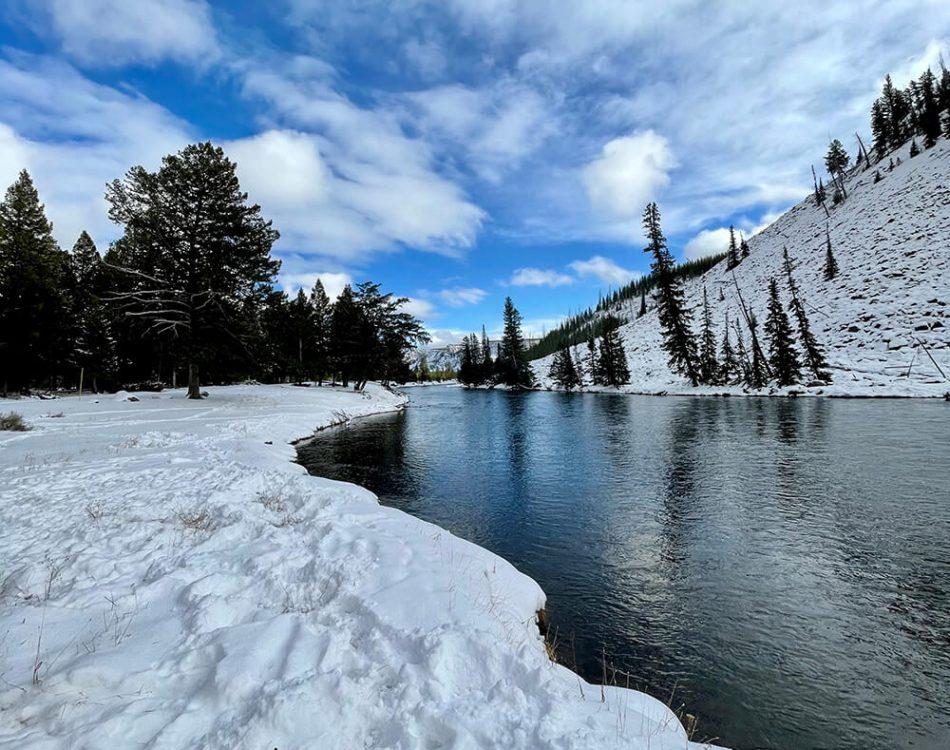 Yellowstone riverside shot