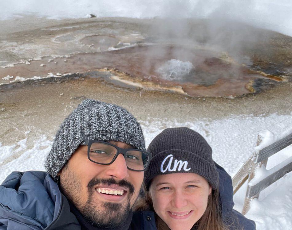 Yellowstone with Amanda